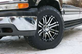 265/70 17 NITTO TERRA CHEVY SUBURBAN EAGLE WHEELS RIMS