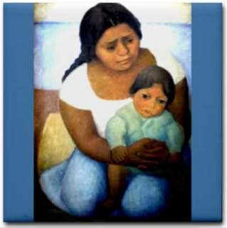 Mexican Artist Diego Rivera   Mother & Child