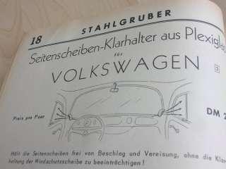 STAHLGRUBER VOLKSWAGEN VW SPLIT KÄFER OVALI OVAL BUG 59
