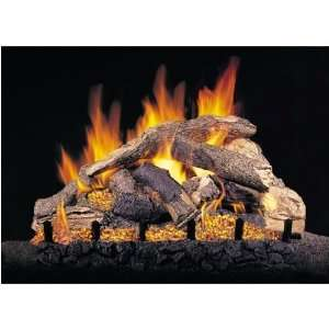 com Peterson Gas Logs 30 Inch Sierra Pine Vented Propane Gas Log Set