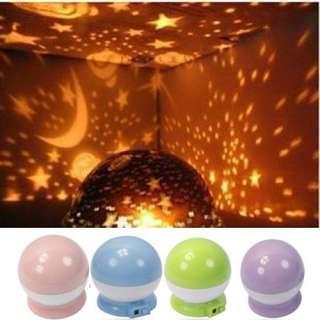 Romantic Rotation Star Sky Night Projector Light Lamp