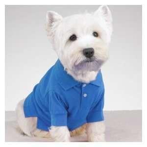 Large Blue Preppy Polo Pet Big Dog Shirt Clothes XL