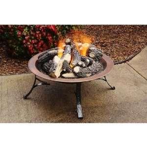 30 inch Portable Outdoor Propane Gas Fire Pit Patio, Lawn & Garden