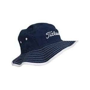 Titleist Bucket Hat   Navy   Small/Medium: Sports & Outdoors