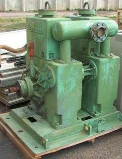 BIG Twin LEYBOLD NRC Rotary Gas Ballast Vacuum Pump Type 400 S.