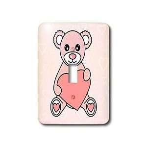 Janna Salak Designs Teddy Bears   Valentines Day Cute Pink Teddy Bear