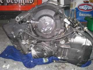 R6 R 6 YZF600 YZF 600 Yamaha Engine Motor Trans Case Head