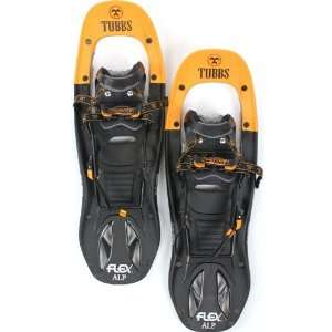 TUBBS FLEX ALP 24 Snowshoes Snow Shoe Pair Mens Orange