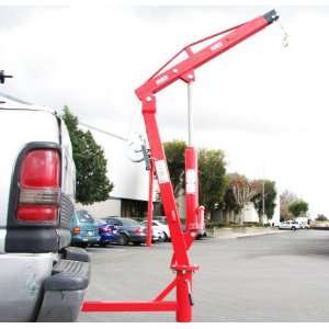 Hydraulic Pwc Dock Jib Engine Hoist Crane Hitch Mount Lift Automotive